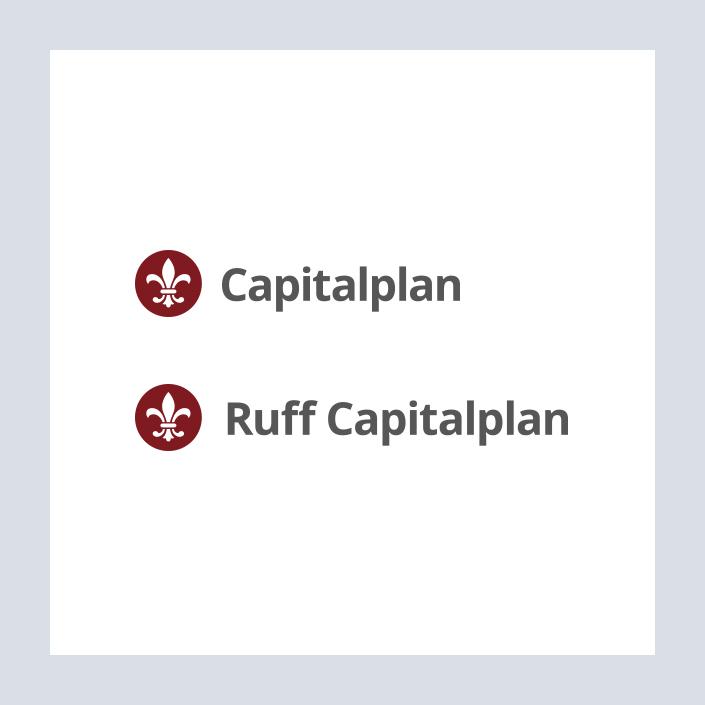 Capitalplan Logo Capitalplan Gruppe und Ruff Capitalplan