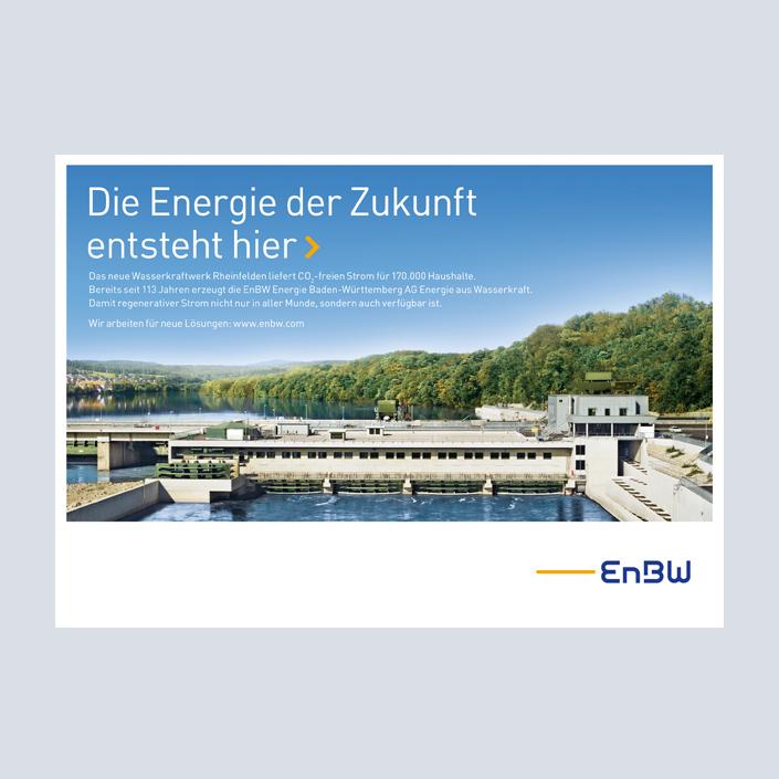 EnBW Anzeige