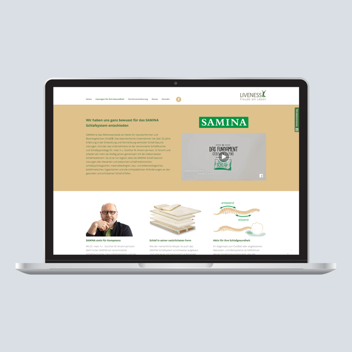 Liveness Website