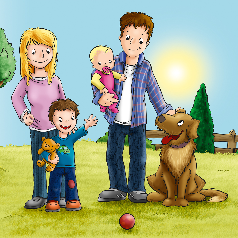 Mama Natura Kinderbuch Key Visual