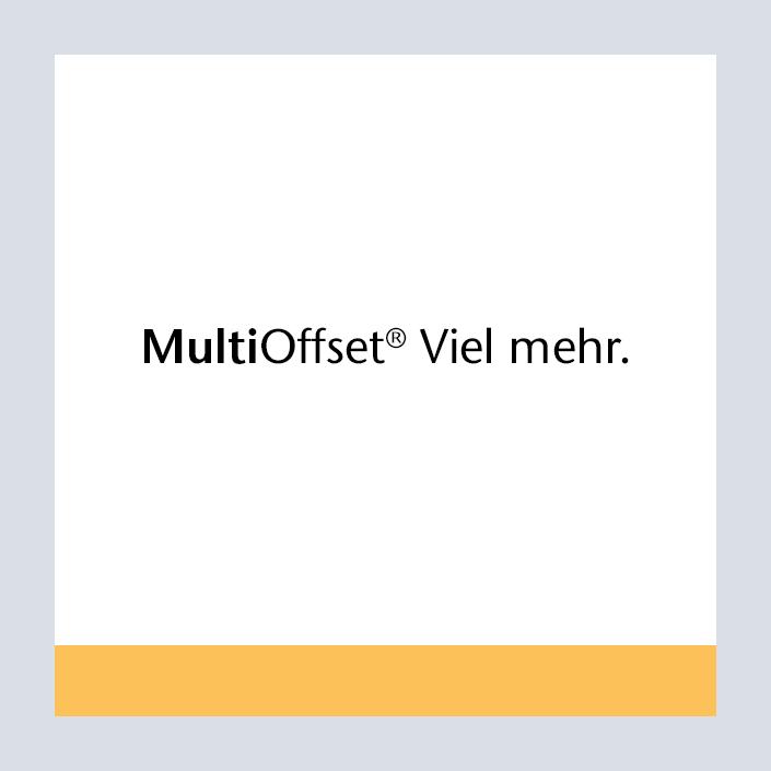 Papyrus Multi Offset Produktlogo und Claim