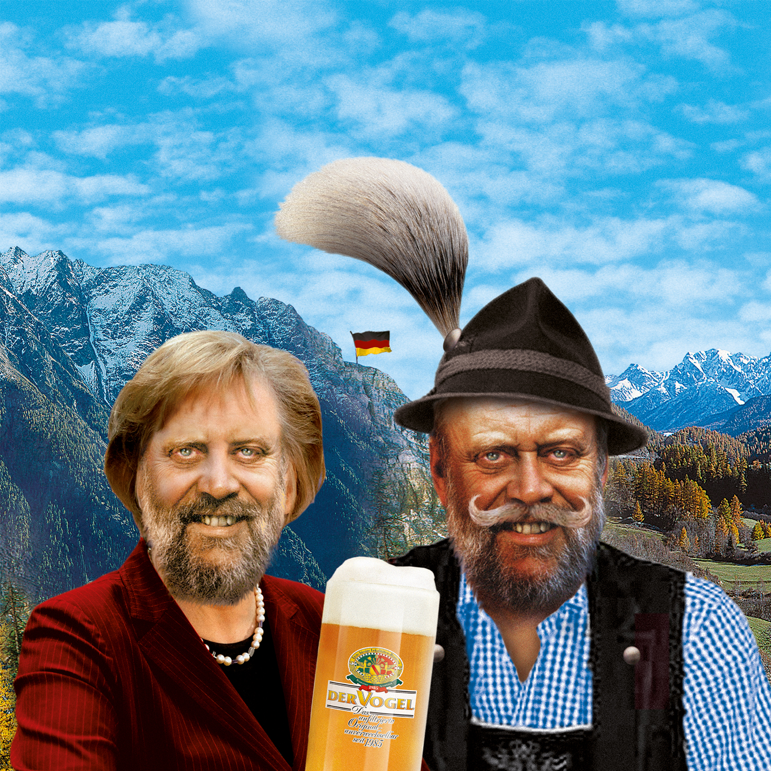 Vogelbräu Key-Visual Angela