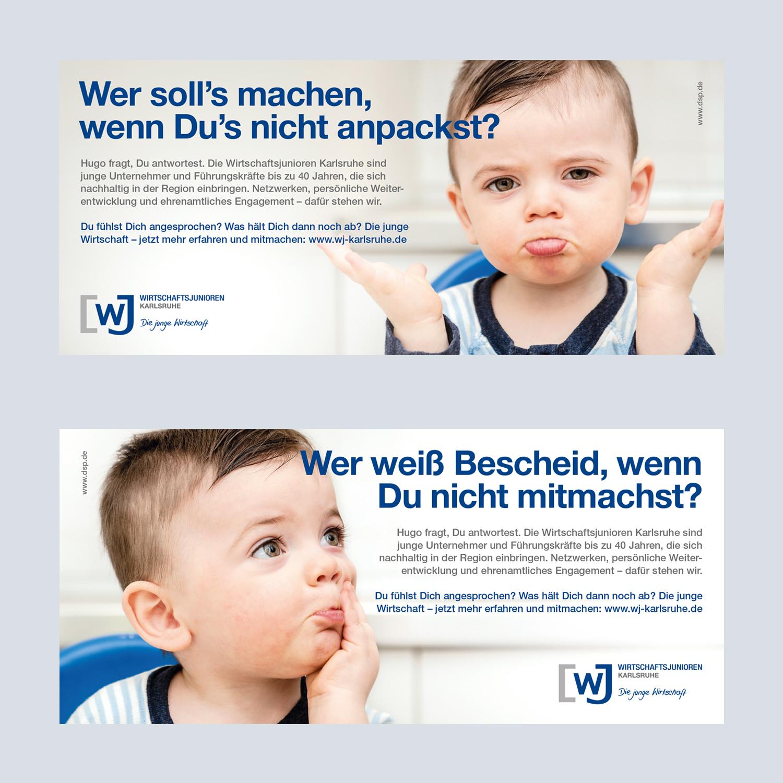 WJ Anzeigen Kampagne Hugo