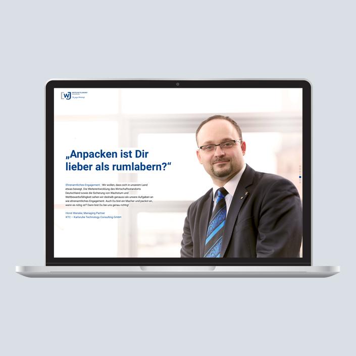 WJ Landingpage Kampagne Hugo