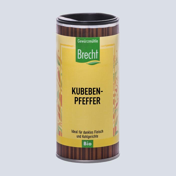 Brecht Verpackung Nachfüllpack Mühle Kubebenpfeffer