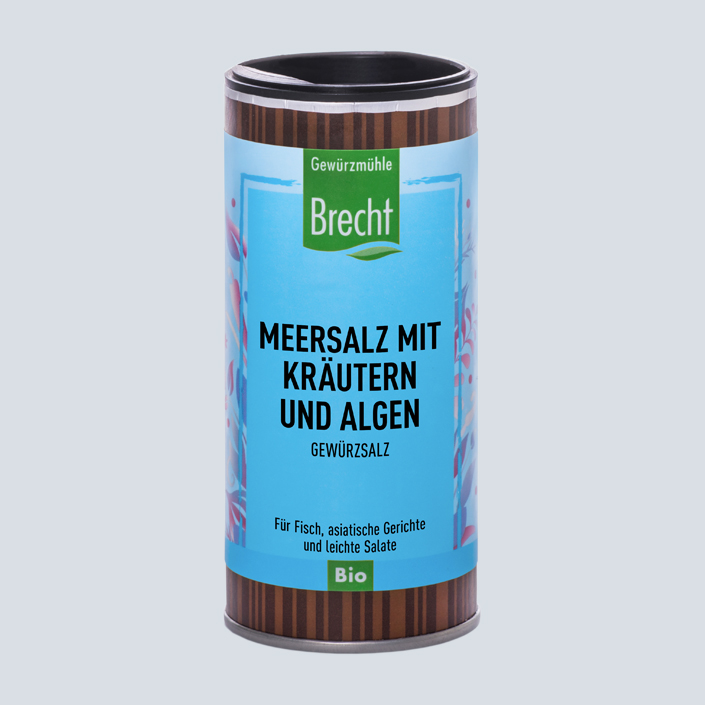 Brecht Verpackung Nachfüllpack Mühle Meersalz