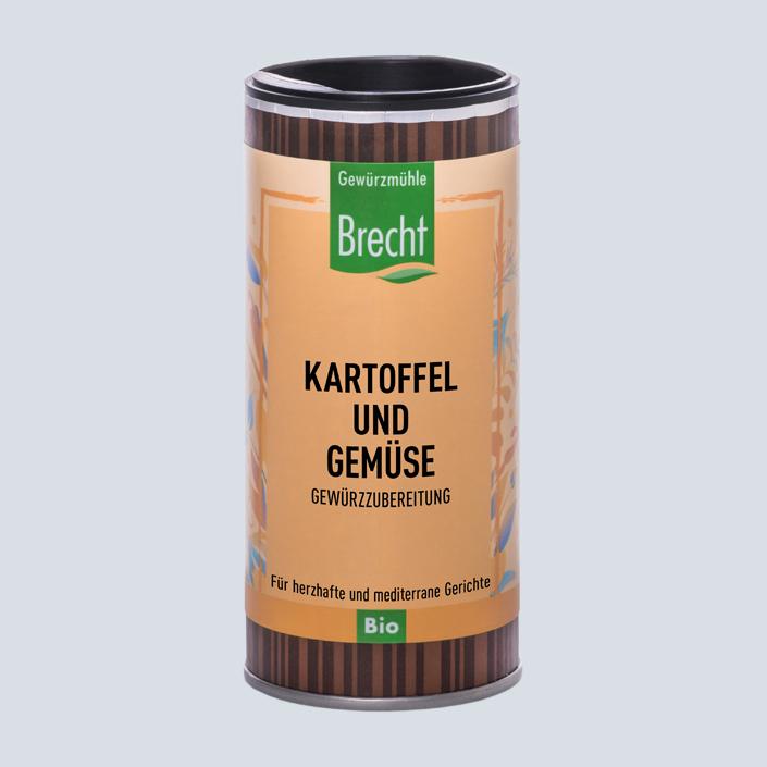 Brecht Verpackung Nachfüllpack Mühle Kartoffel und Gemüse