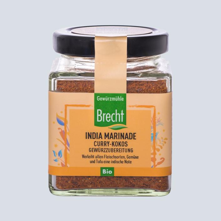Brecht Verpackung Glas quadratisch India