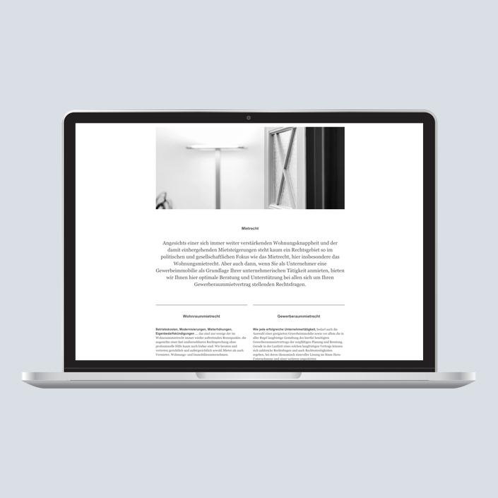 Dennig & Kollegen Website Desktop