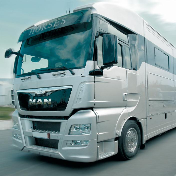 MTS Fahrzeugbau Fahrzeug Horse Truck