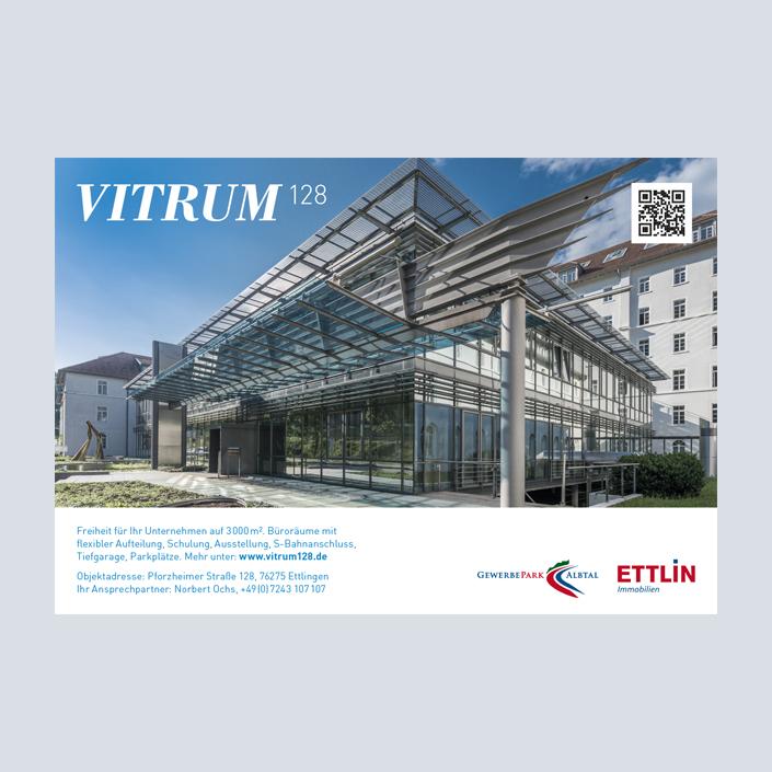 Vitrum 128 Anzeige