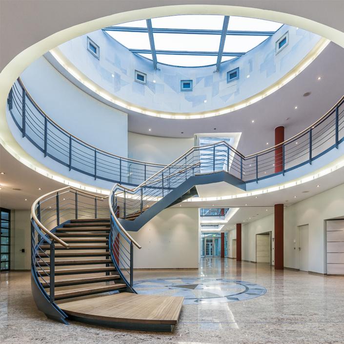 Vitrum 128 Motiv Galerie Lobby