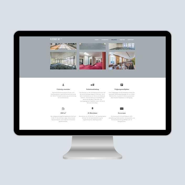 Vitrum 128 Website Portfolio