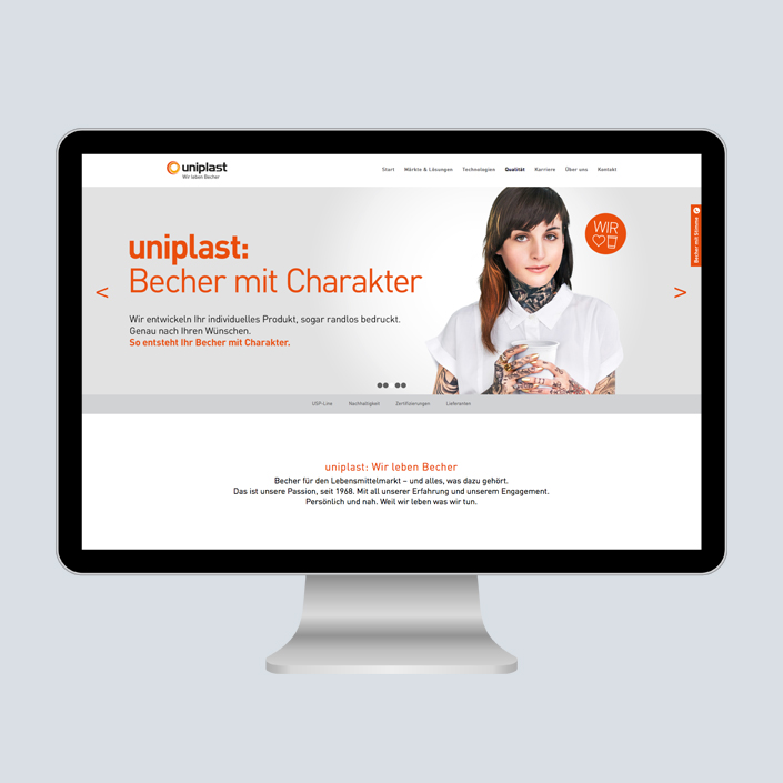 uniplast Website Desktop Slider
