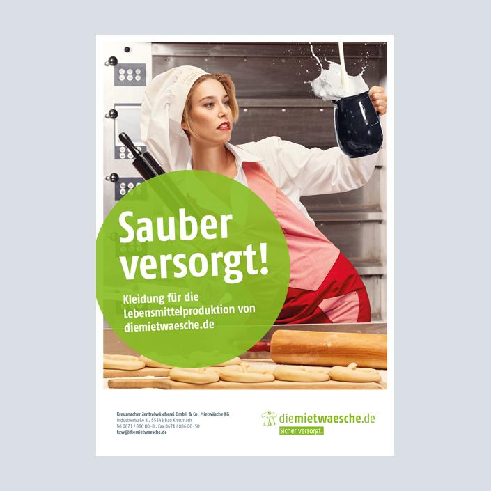 diemietwaesche.de Anzeige Lebensmittelproduktion