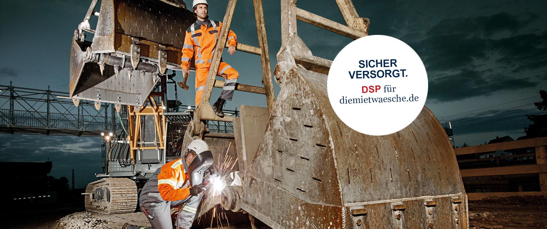DMW Baustelleneinsatz