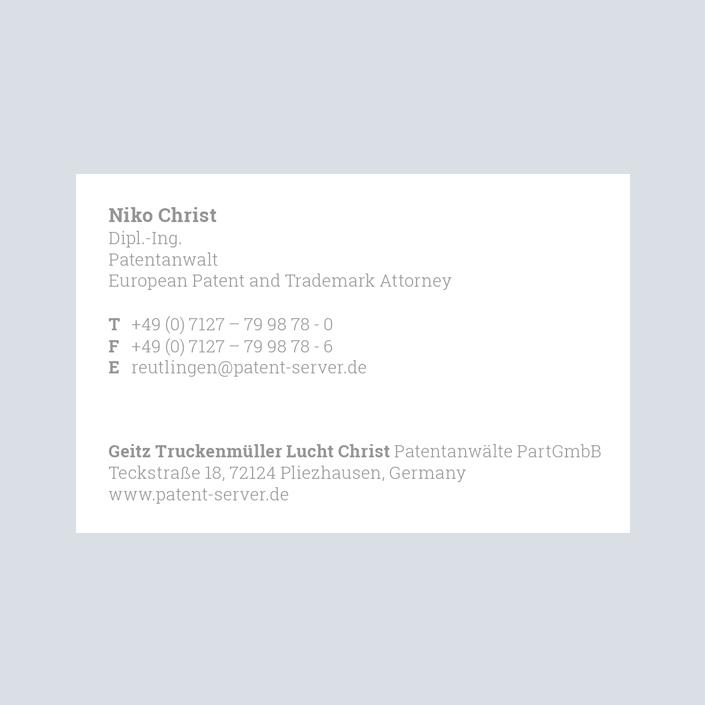 GTLC Visitenkarte