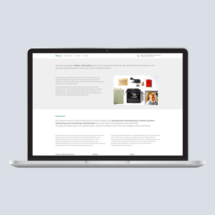 GTLC Website Desktop
