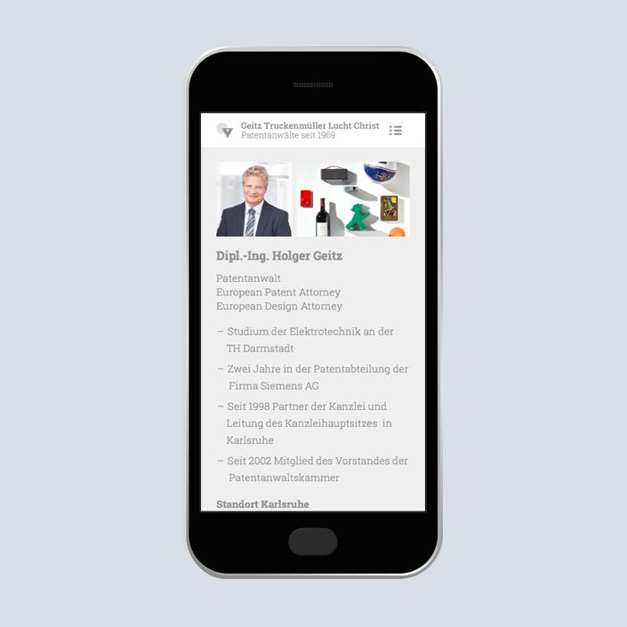 GTLC Website Mobile