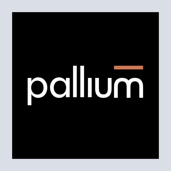 Pallium Logo negativ
