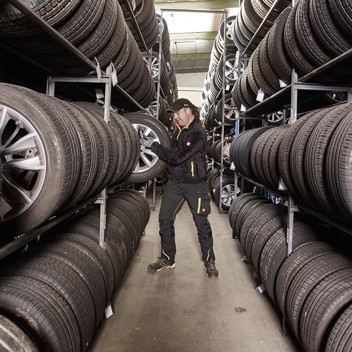 Stoppanski Desktop Einlagerung Reifen