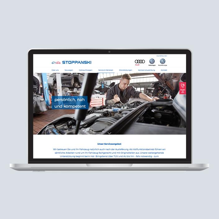 Stoppanski Desktop Startseite
