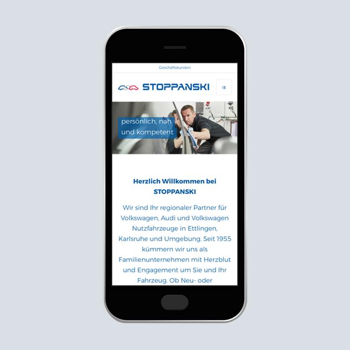Stoppanski Mobile Text