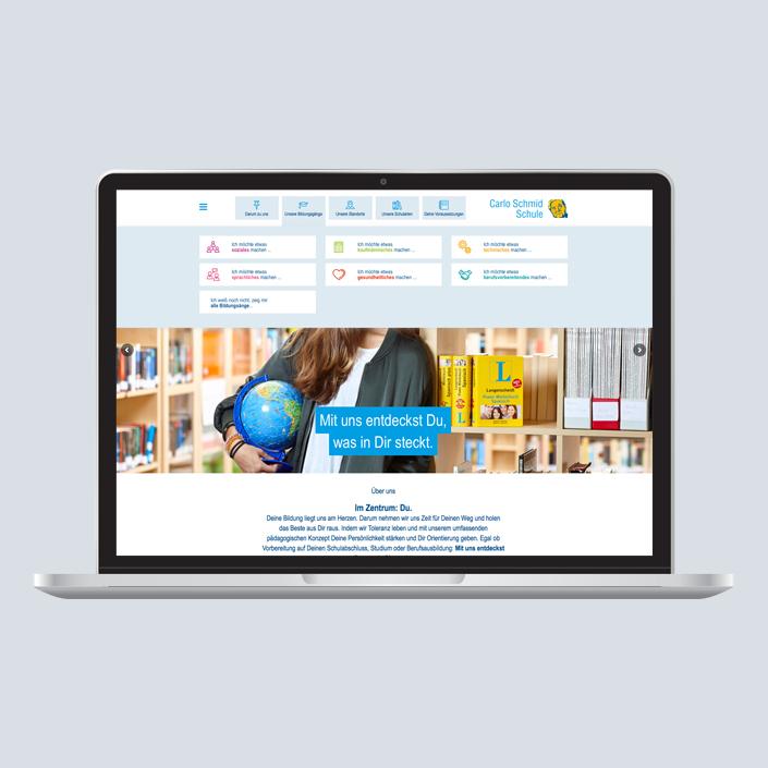 Carlo Schmid Schule Web