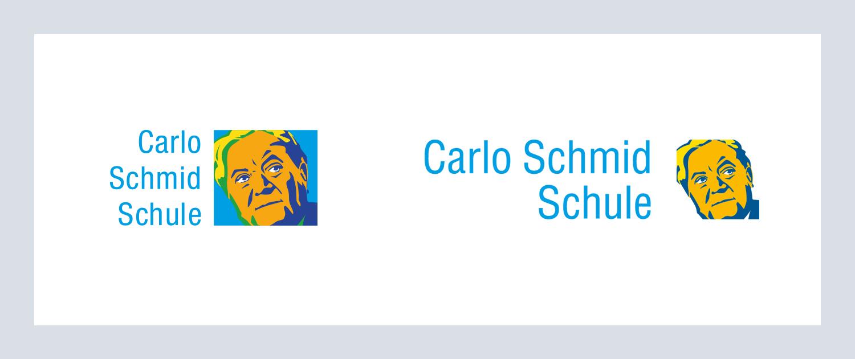 Carlo Schmid Schule Logo alt und neu