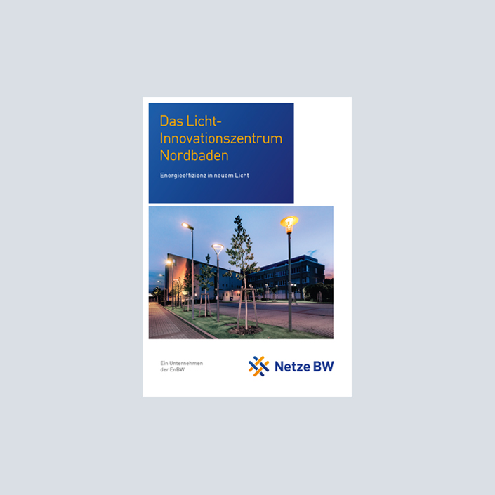 Netze BW Broschüre Straßenbeleuchtung
