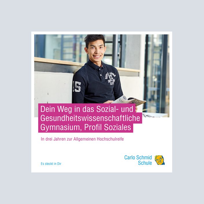 Carlo Schmid Schule Flyer Titel