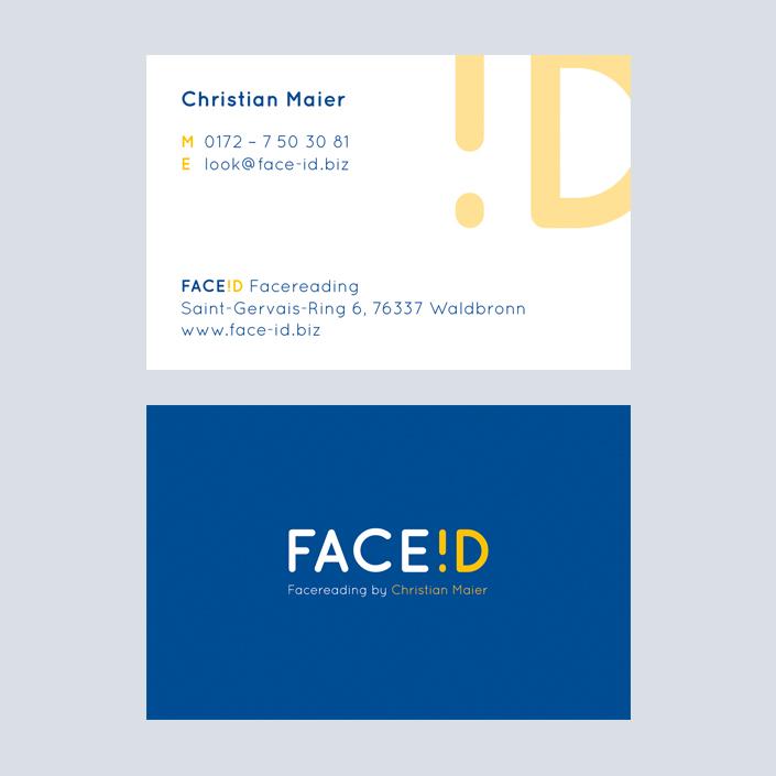 FaceID Visitenkarte