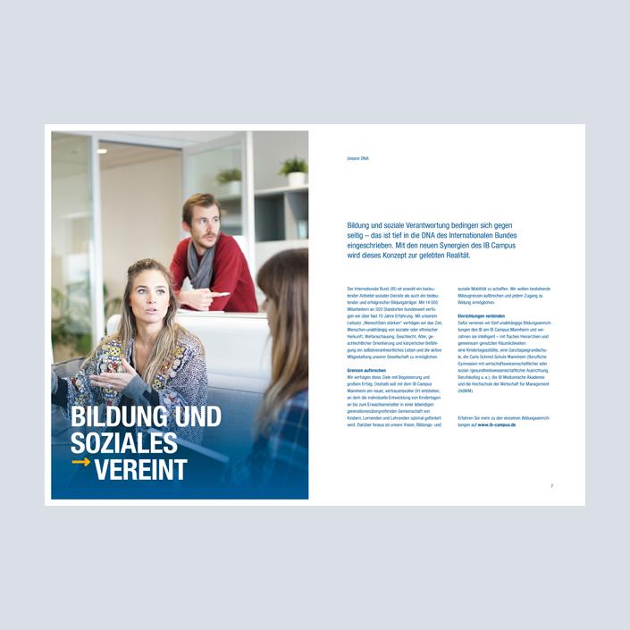 IB Campus Mannheim Factbook Innenseiten
