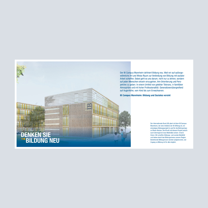 IB Campus Mannheim Broschüre Innenseiten