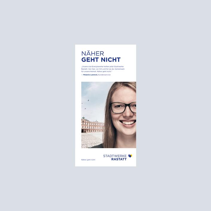 Stadtwerke Flyer Imagekampagne Titel