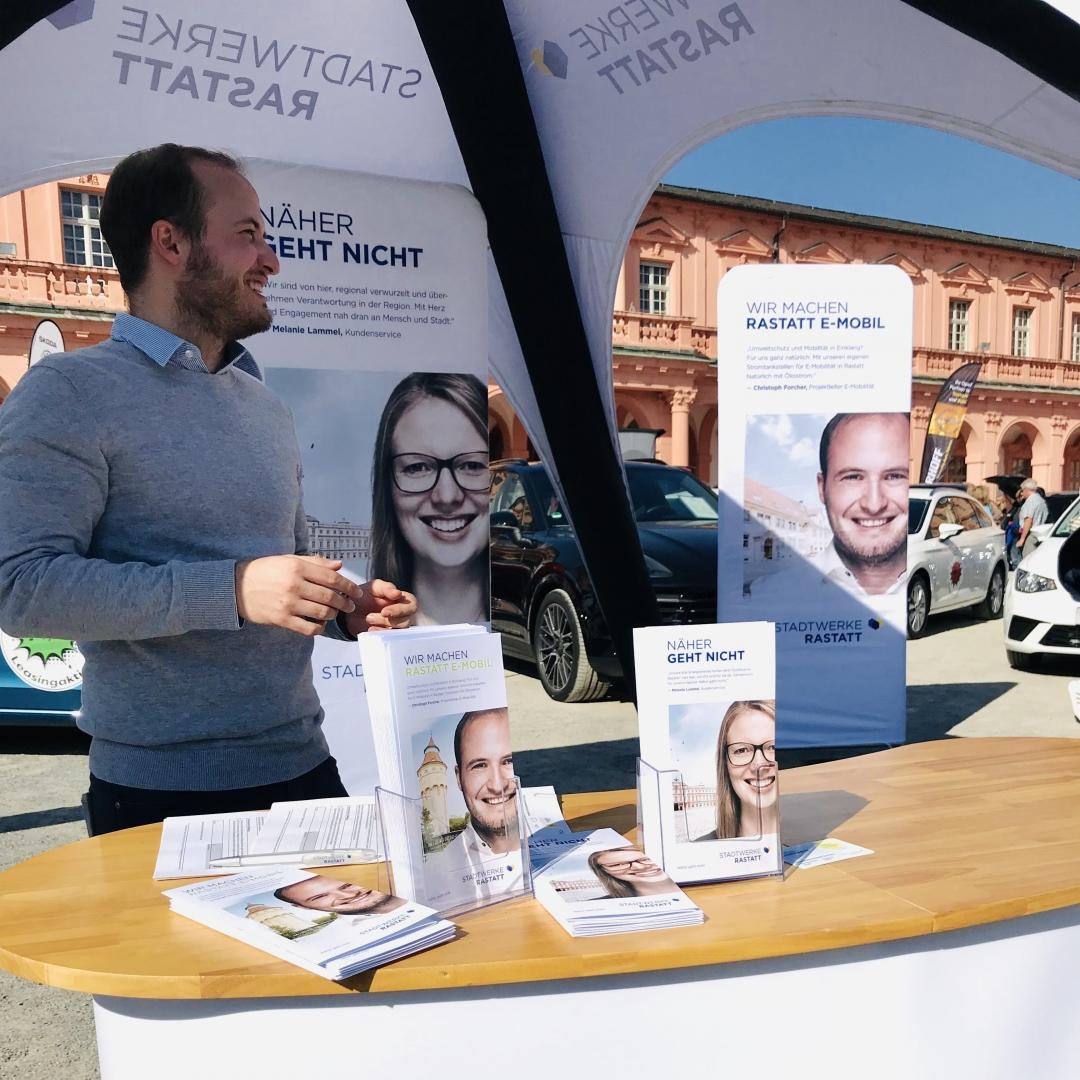 Stadtwerke Rastatt Messeauftritt