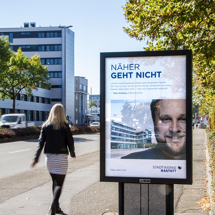 Stadtwerke Rastatt Kampagne