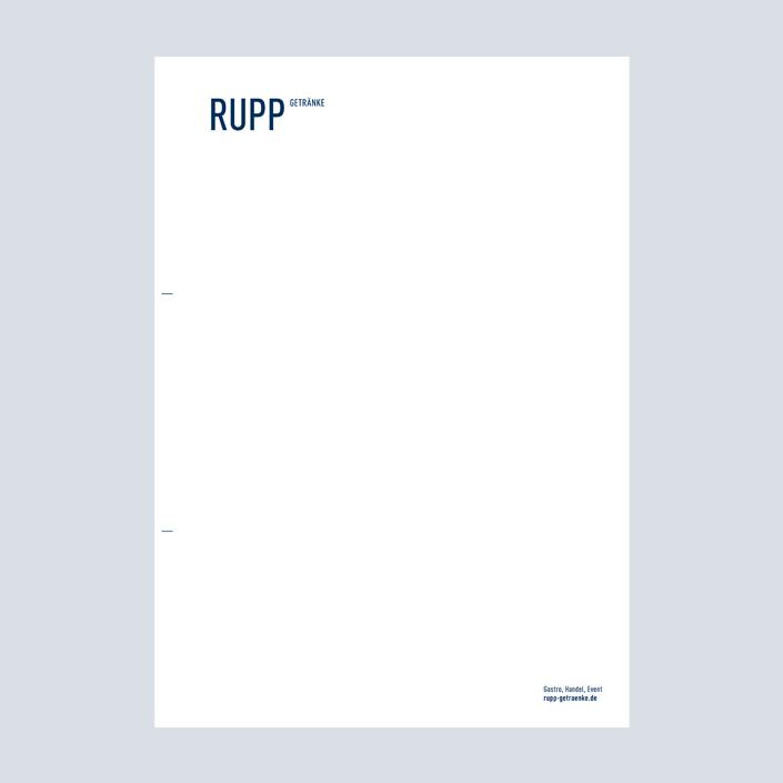 Rupp Briefbogen