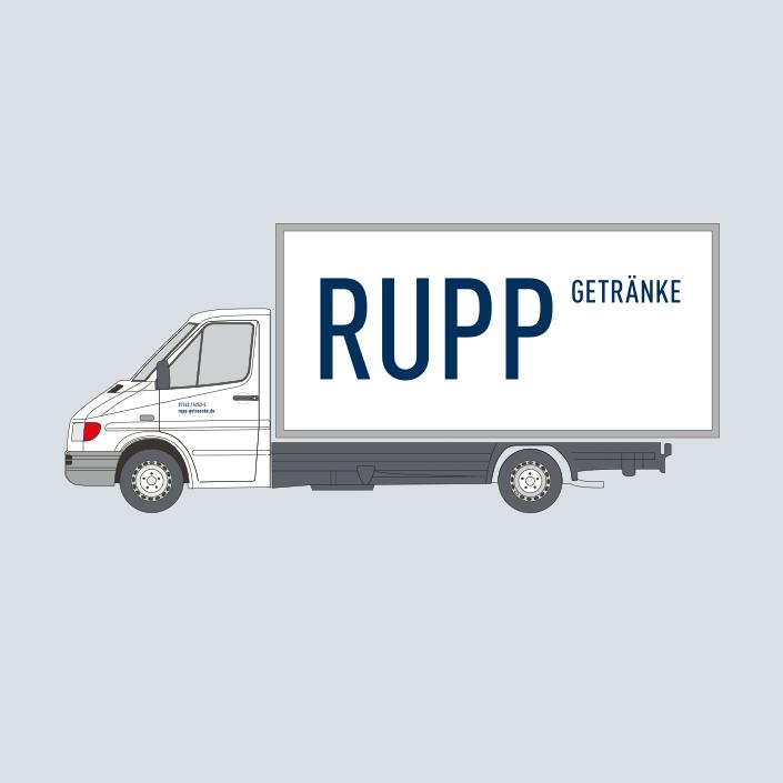 Rupp Fahrzeugbeschriftung
