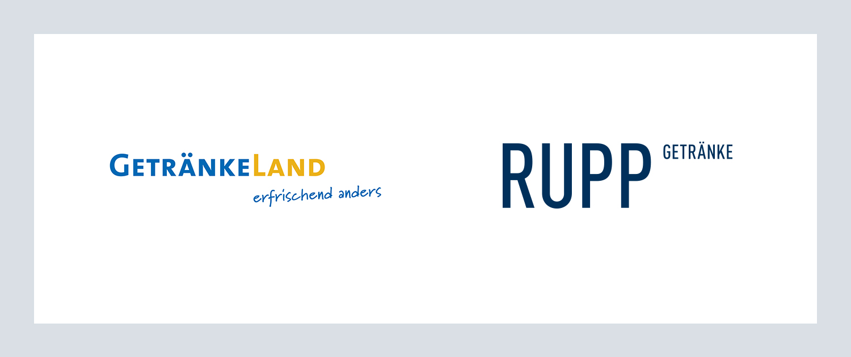 Rupp Gegenüberstellung Logo alt und neu