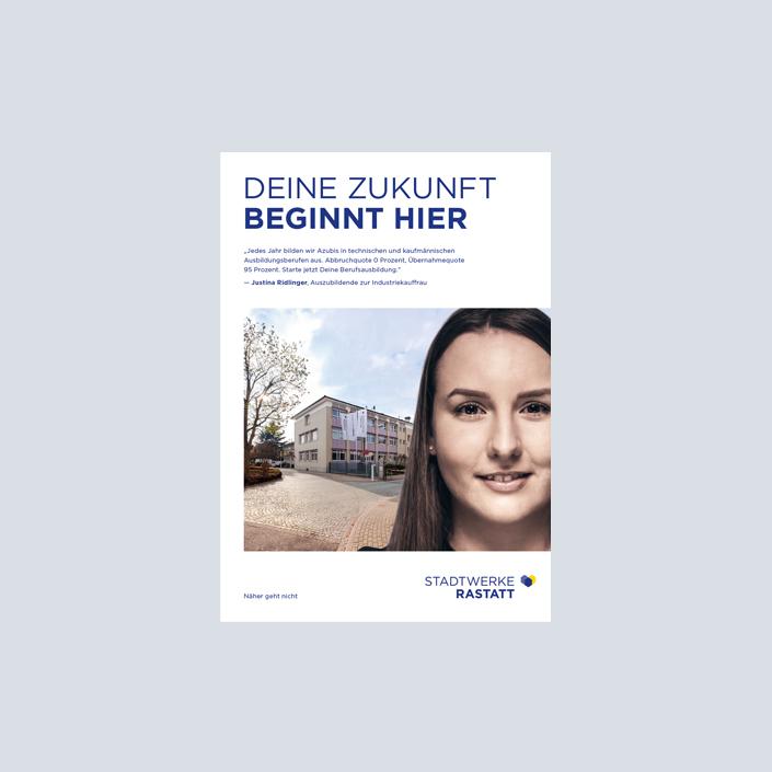 Stadtwerke Rastatt Ausbildungsbroschüre