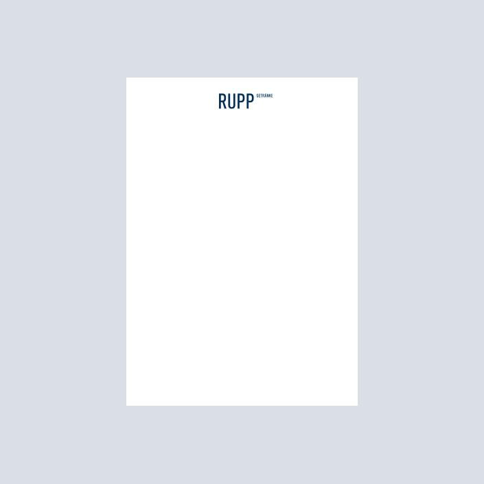 Rupp Schreibblock